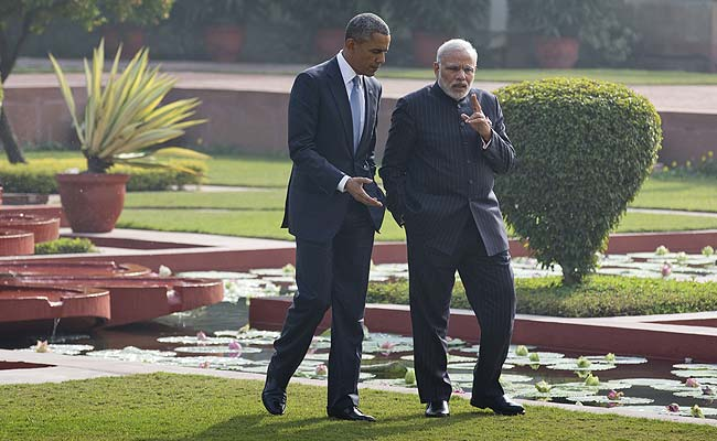 President Obama wins India's heart, signals to China India is with US, Modi wins Obama, Signals as a Global Leader!
