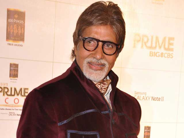 """""""Most humbled and honoured by what the Nation has given me"""" Amitabh Bachchan"""