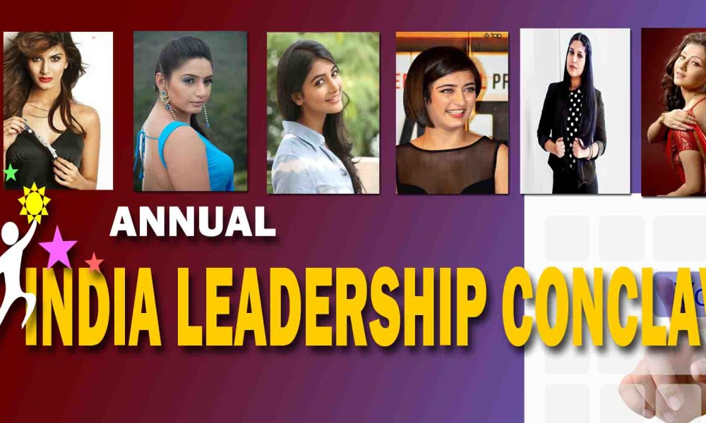 Vaani Kapoor, Ragini Dwivedi, Pooja Hegde, Akshara Haasan, Bhumi Pednekar & Swastika Mukherjee for top honour at 6th Annual India Leadership Conclave & Indian Affairs Business Leadership Awards 2015