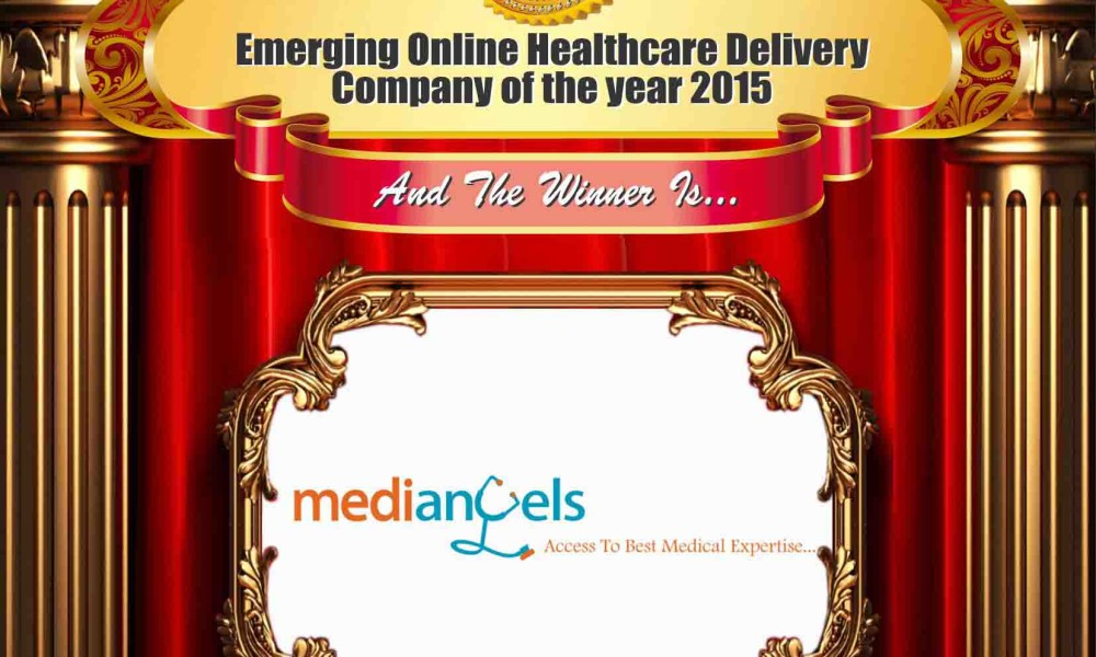 Emerging Online Healthcare Delivery Company of the year 2015  – MediAngels