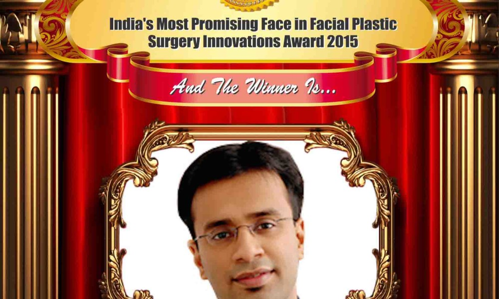 India's Most Promising Face in Facial Plastic Surgery Innovations – Dr. Debraj Shome, Facial Plastic Surgeon & CEO, MediAngels