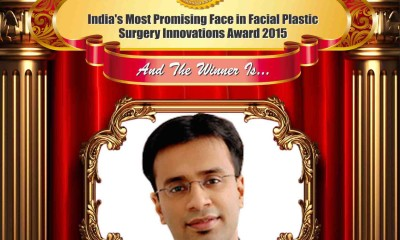 India's Most Promising Face in Facial Plastic Surgery Innovations