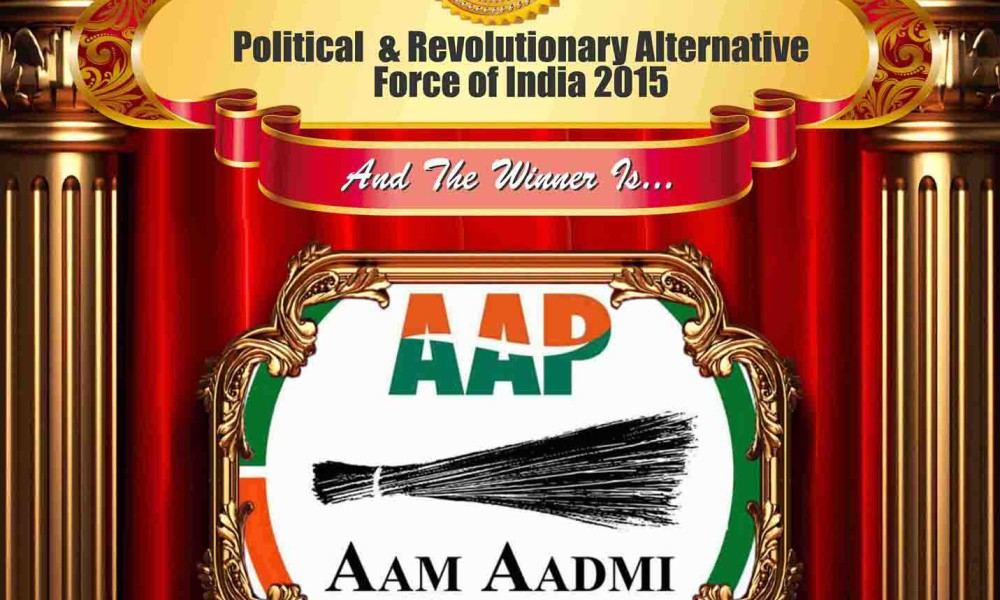 Political & Revolutionary Alternative Force of India 2015 – Aam Aadmi Party