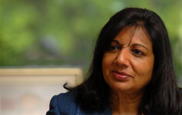 Kiran Shaw at Pharma Leaders awards